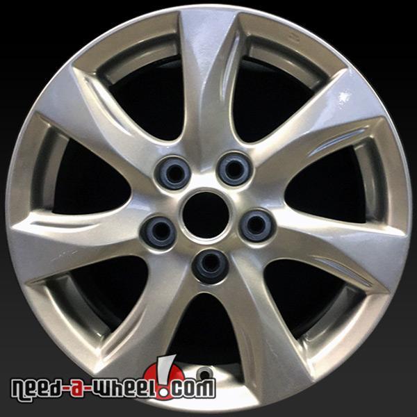 Mazda 3 Rims >> 2010 2011 Mazda 3 Wheels For Sale 16 Silver Stock Rims 64927