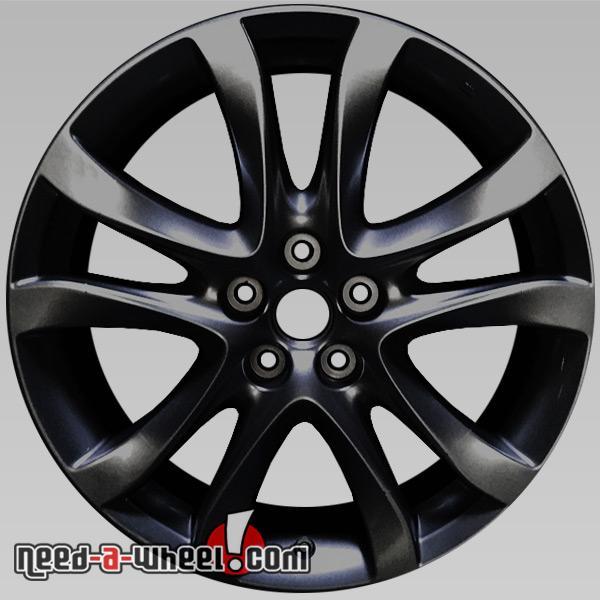 """2003 2008 Mazda 6 Wheels For Sale: 19"""" Black Mazda 6 Oem Wheels 2014-2016 Factory Alloy Stock Rims 64958"""
