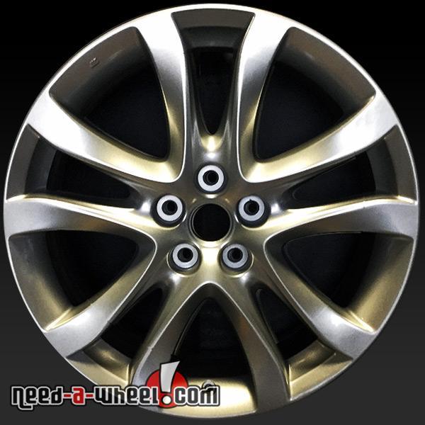 "Hypersilver 19"" Mazda oem wheels 64958"