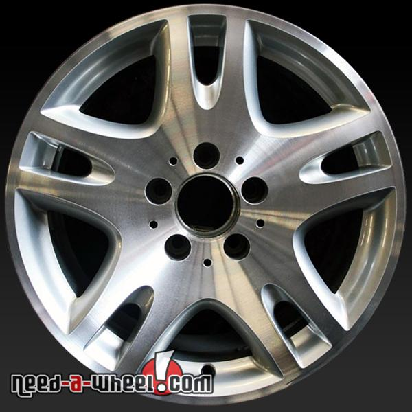 Stock mercedes rims