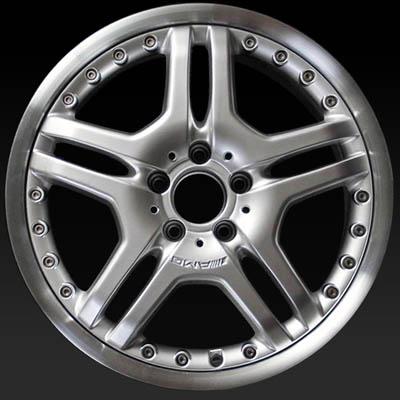 19 mercedes s65 wheels 2006 hypersilver oem rims 65420. Black Bedroom Furniture Sets. Home Design Ideas
