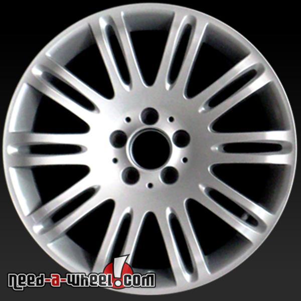 18 mercedes e class wheels oem 07 09 front rims 65432 for Mercedes benz e550 rims for sale
