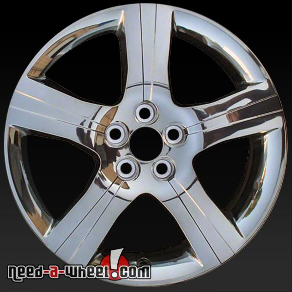 18 Quot Pontiac G6 Wheels Oem 2008 2010 Chrome Rims 6633