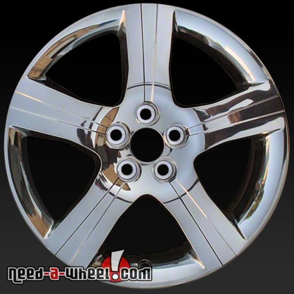 18 Quot Chevy Malibu Wheels Oem 2011 2012 Chrome Rims 6633