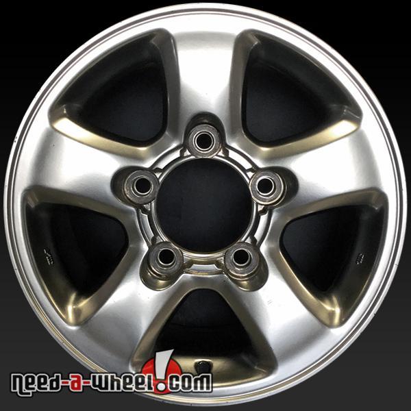 "Toyota Land Cruiser wheels 16x8"" oem rims 69380"