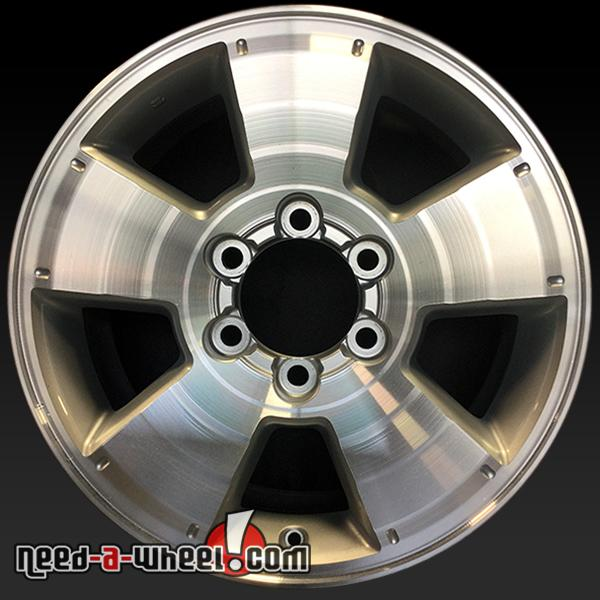 17x7 5 toyota tacoma oem wheel 05 13 machined factory. Black Bedroom Furniture Sets. Home Design Ideas