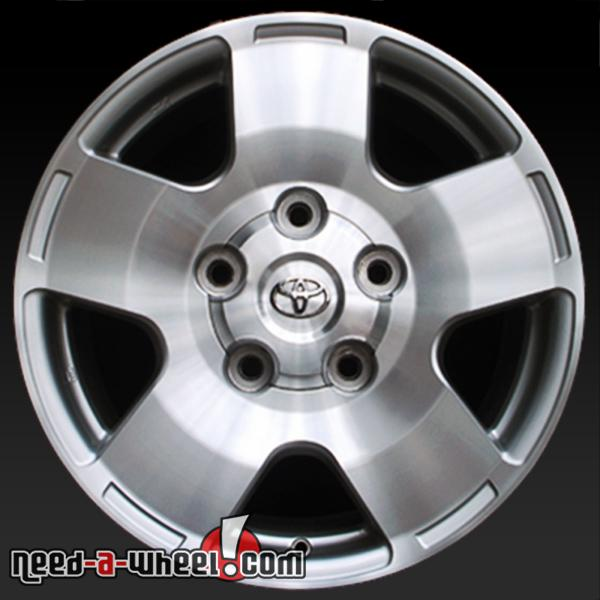 18 toyota tundra wheels oem 2007 13 machined rims 69516. Black Bedroom Furniture Sets. Home Design Ideas