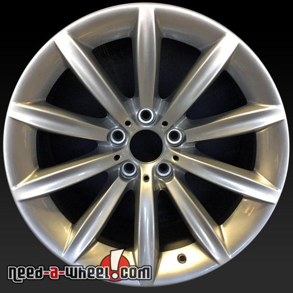 19 bmw 7 series wheels oem on 06 08 750i 760i silver rims 71163. Black Bedroom Furniture Sets. Home Design Ideas