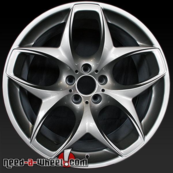 21 bmw x5 wheels for sale 2007 14 grey oem rims 71229. Black Bedroom Furniture Sets. Home Design Ideas