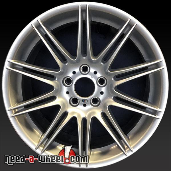 "19"" BMW 3 Series Wheels Oem 2007-2013 Rear Silver Rims 71239"