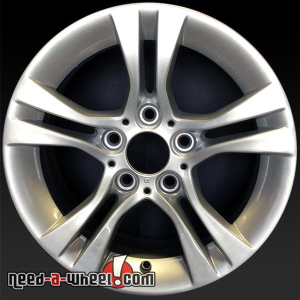 "16"" BMW 3 Series Wheels Oem 2007-2012 Silver Rims 71242"