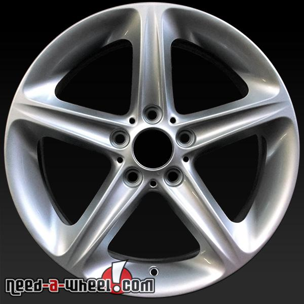 "18"" BMW 135i Wheels Oem 2008-2013 Silver Rims 71261"