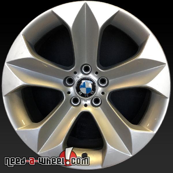 """Bmw X6 Wheels: 19"""" BMW X6 OEM Wheels 2008-2014 Rear Silver Factory Stock"""