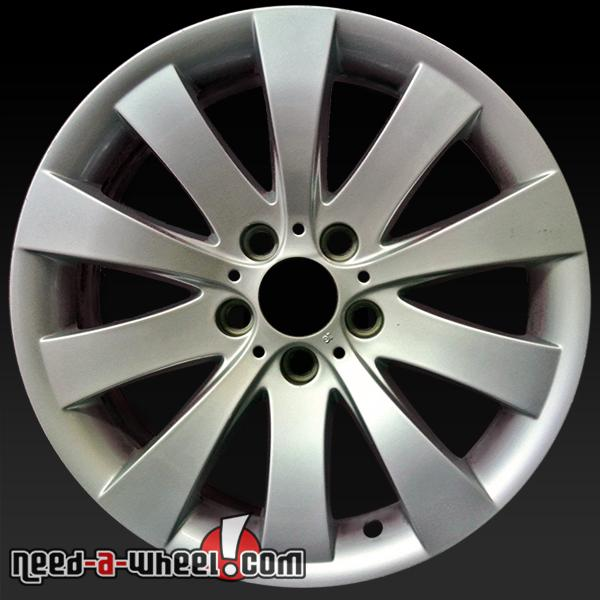"18x8"" BMW Wheels For Sale 2009-2014 Silver Rims 71325"