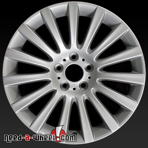 """19"""" BMW 535i Wheels Oem 2010-2014 Silver Rims 71337"""