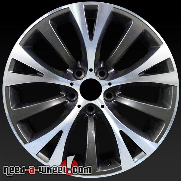 "19"" BMW Wheels For Sale 2010-14 Machined OEM Rims 71370"