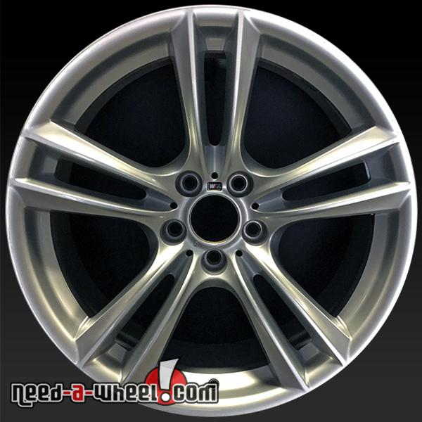 Oem Bmw Wheels >> 20x10 Bmw Wheels Oem 2009 2016 Rear Silver Stock Rims 71380