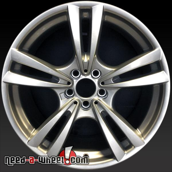 "Bmw X6m For Sale: 20x10"" BMW X6M Wheels Oem 2010-2015 Silver Rims 71384"