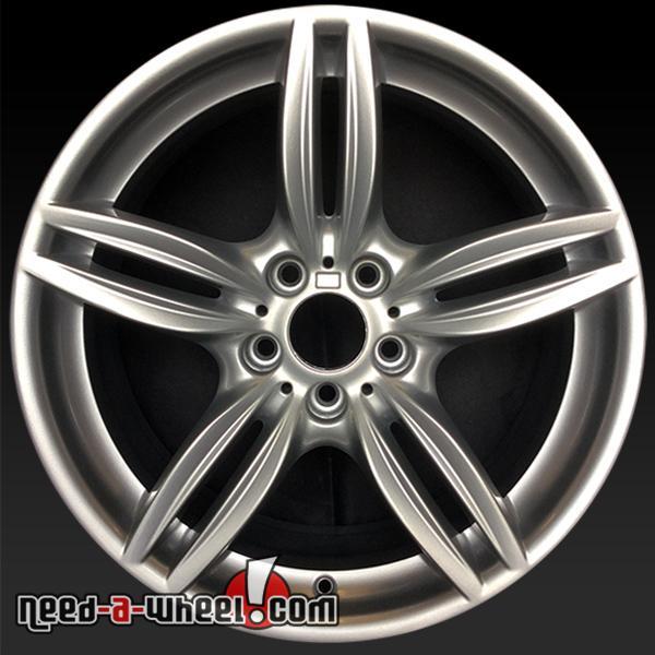 """19"""" BMW 640i Wheels Oem 2012-2014 Silver Rims 71414"""