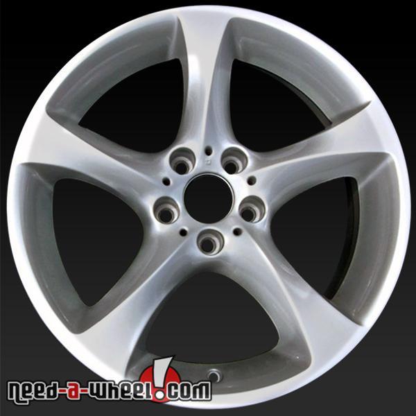 "19x8"" BMW 3 Series Wheels Oem 2012-2013 Silver Rims 71509"