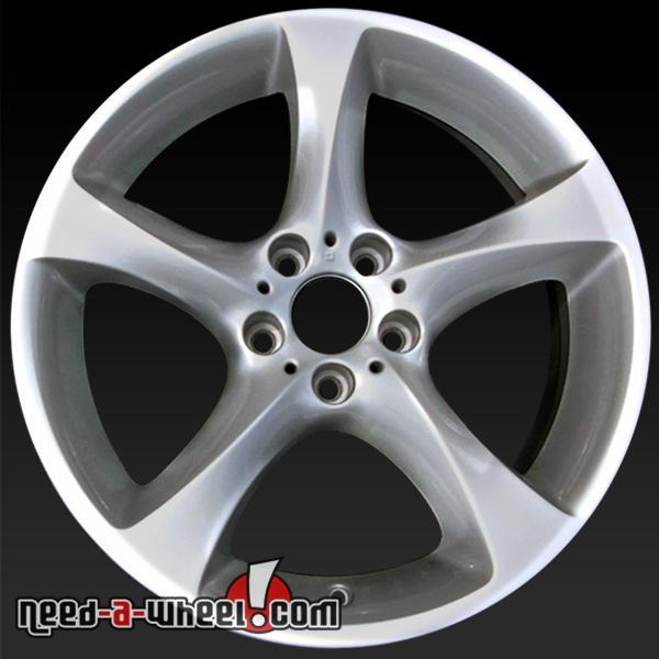 19 bmw 335i wheels oem 2012 2013 silver rims 71509. Black Bedroom Furniture Sets. Home Design Ideas