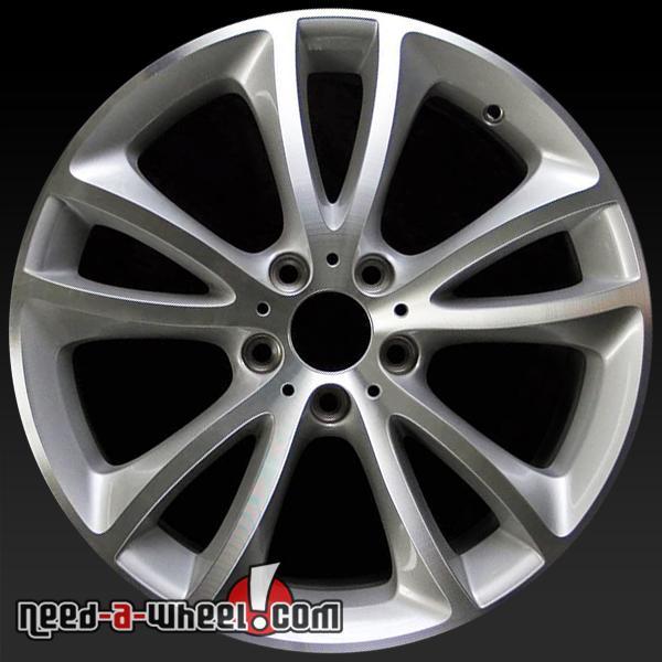 "19"" BMW 535i Wheels Oem 2011-2014 Machined Rims 71515"