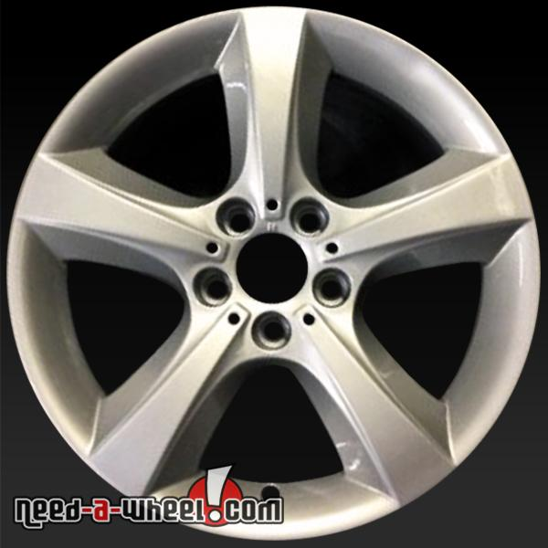 "Bmw X5 Wheels: 18"" BMW X5 Wheels Oem 2007-2013 Silver Rims 71533"