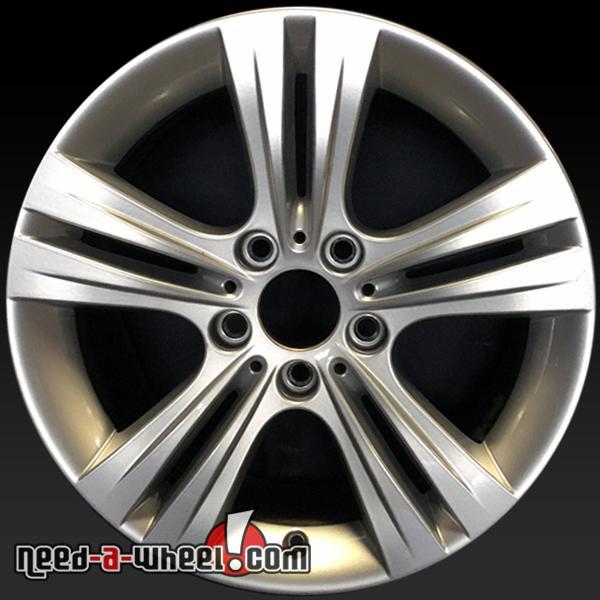"17x7.5"" BMW Oem Wheels 2012-2016 Silver Factory Stock Rims"