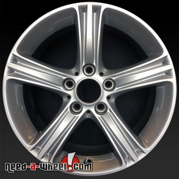"17x7.5"" BMW Wheels Oem 2012-2015 Silver Stock Rims 71535"