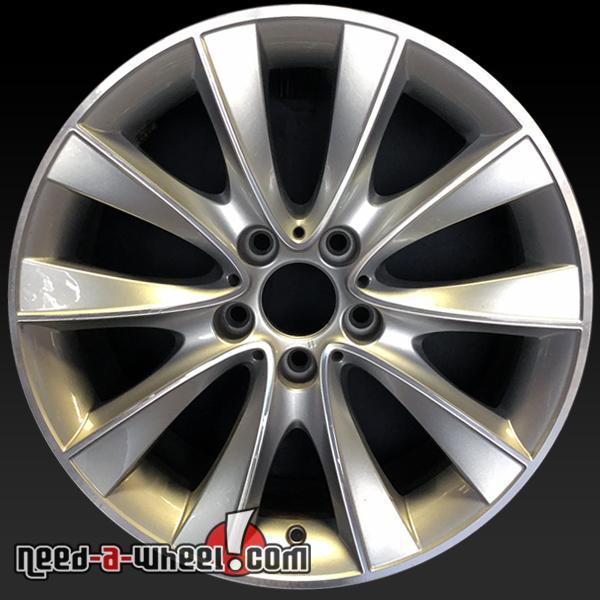 Oem Bmw Wheels >> 18 Bmw Wheels Oem 2010 2016 Silver Rims 71586