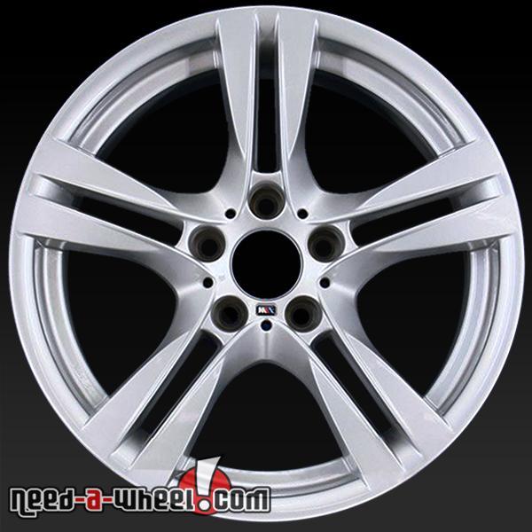 """18x8"""" BMW X1 Wheels Oem 2013-2014 Silver Rims 71599"""
