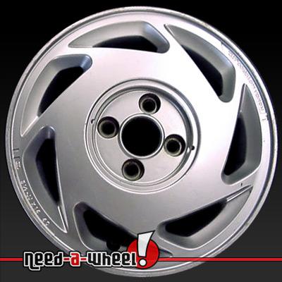Acura Integra Wheels Argent Silver Rims - Acura stock rims