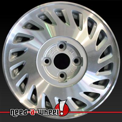 Acura Integra Wheels Machined Silver Rims - 1990 acura integra rims
