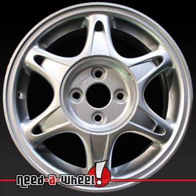 Acura Integra Wheels Silver Rims - Acura oem wheels