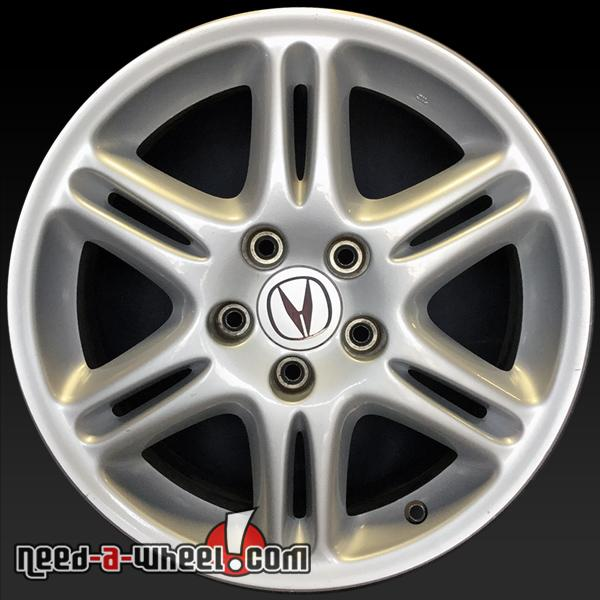 """17"""" Acura CL OEM Wheels 2003 Factory Silver Stock Rims 71725"""