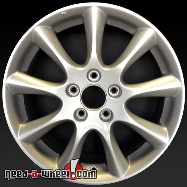 "17"" Acura TSX Wheels Oem 2006-2008 Silver Rims 71750"