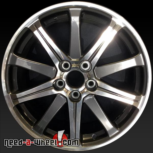 "19"" Acura TL Wheels Oem 2009-2014 Machined Stock Rims 71787"