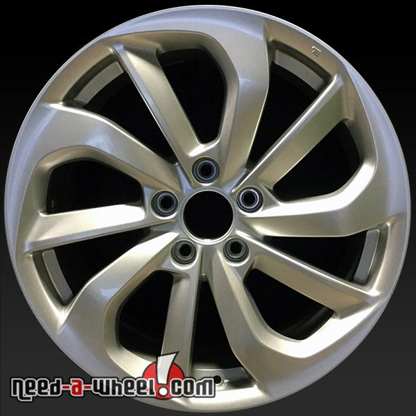 "18"" Acura RDX Wheels OEM 2016 Silver Factory Alloy Stock"