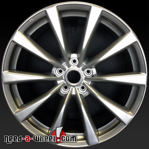 """Infiniti G37 S For Sale: 19"""" Infiniti G37 Wheels Oem 2008-2009 Hypersilvr Stock"""