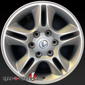 "Lexus GX470 oem wheels 17x7.5"" stock rims 74167"