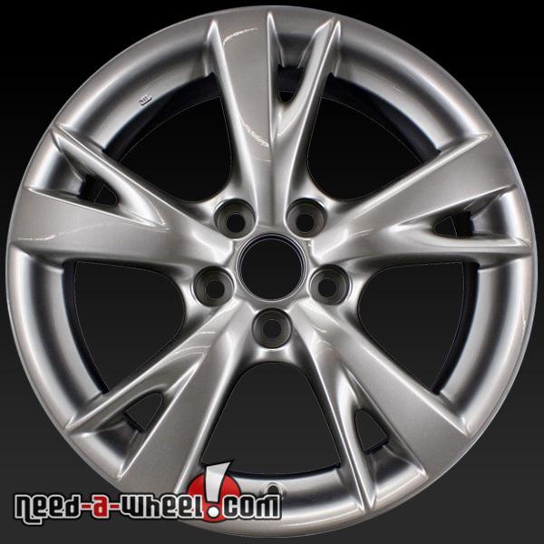 "For Sale Lexus Is250: 18"" Lexus IS250 Wheels Oem 2009-2010 Silver Rims 74218"