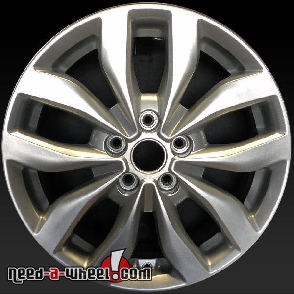 Kia Optima Rims >> Details About 17x6 5 Kia Optima Oem Wheel 14 15 Silver Factory Stock Rim 74690 529102t370