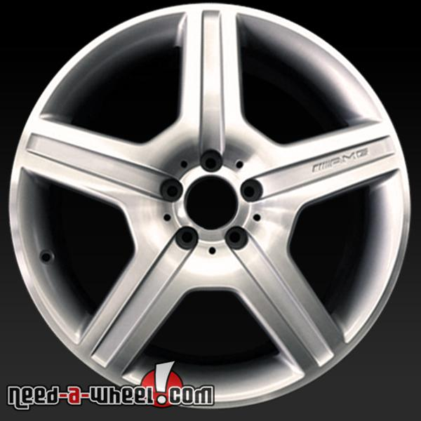 19 mercedes s class wheels oem 08 11 amg rims 85021 for Mercedes benz s550 rims for sale