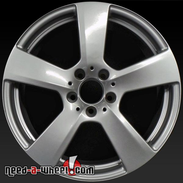 18x8 mercedes e550 wheels oem 2011 2013 silver rims 85151 for Mercedes benz e550 rims for sale