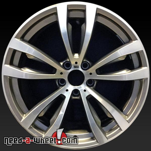 """Bmw X6 Wheels: 20x10"""" BMW X6 Oem Wheels 2015-2016 Silver Rims 86053"""