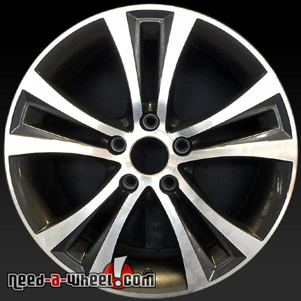 """18"""" BMW Oem Wheels 2014-2016 Front Machined Stock Rims"""