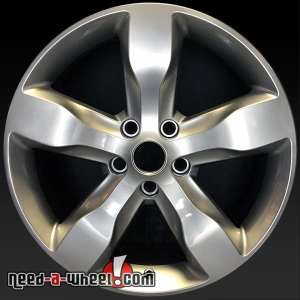 "20"" Jeep Grand Cherokee Wheels Oem 11-13 Hypersilver Stock"
