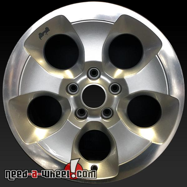412498982a9 2013-2015 Jeep Wrangler wheels for sale. 18″ Machined stock rims 9119