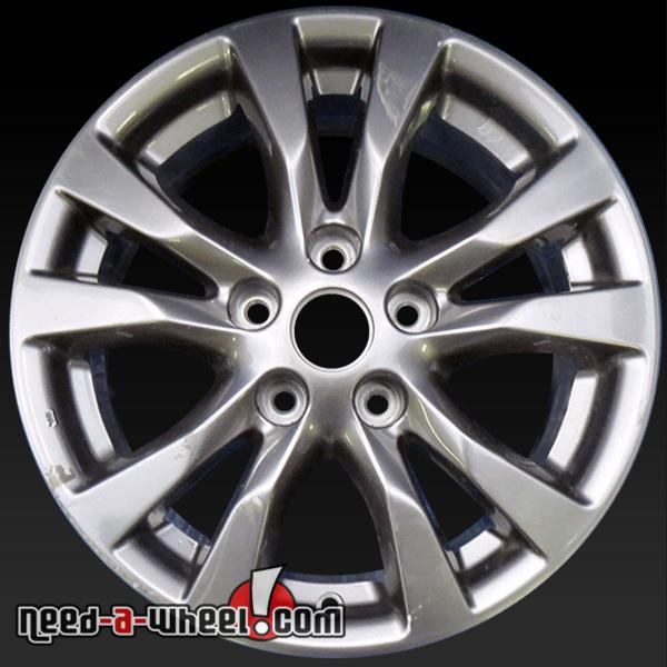 16 nissan altima wheels oem 2014 2015 silver rims 98931. Black Bedroom Furniture Sets. Home Design Ideas