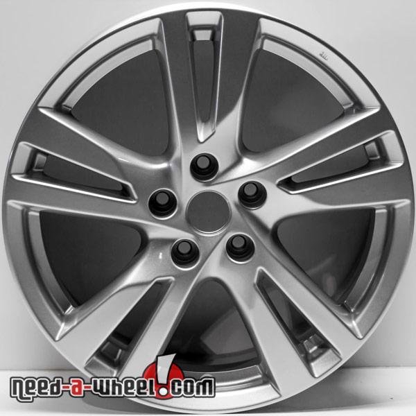 40 Nissan Altima Replica Wheels 4040 Silver Replace Rims 40 Inspiration 2013 Nissan Altima Bolt Pattern